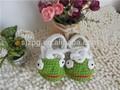 de dibujos animados de ganchillo zapatos de bebé hecha a mano de punto zapatos de bebé patrones