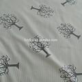 Tejido jacquard 100% tela de poliéster la tela del colchón