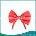 los niños de moda corbata de lazo rojo