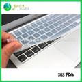 Venda Quente Popular Colorido Película protetora de silicone teclado do laptop