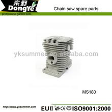 baratos cadena de la sierra del cilindro de piezas de repuesto ms180