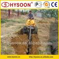 23hp briggs& stratton retro escavadora mini máquina para venda