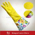 extra long gant de nettoyage de ménage en caoutchouc
