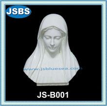 jeune femme buste en marbre blanc aristocratique