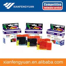 oficina de suministro de tinta del cartucho negro cian magenta amarillo compatibles para impresoras de inyección de tinta