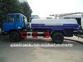4x2 dongfeng camión de succión fecales/de succión de vacío de camiones