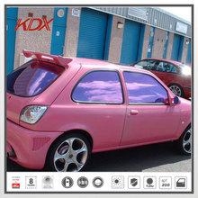 La ventana del coche de la película de color púrpura, 99% uv solar rechazo del coche de control tinte