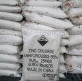 Galvanoplastia productos químicos zinc 96%- 98% cloruro de zinc