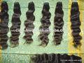 De pelo indio virgen distribuidores, 100% virgen trama del pelo, el color natural