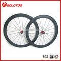 de alta calidad de la superficie de basalto 700c 50mm de carretera de carbono ruedas de bicicleta de venta al por mayor