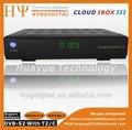 la nube ibox 3 receptor de satélite descargar el software de doble sintonizador hd nube ibox 3