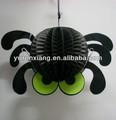 la decoración de halloween bate de calabaza cráneo araña lámpara linterna portátil linterna de papel