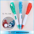 novidade fábrica caneta promocional com luz led
