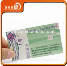Xhfj- b- bc11 llamando al por mayor de la tarjeta de papel de impresión de servicio