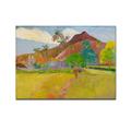 Paul gauguin tahiti animer montagne, peinture à l'huile/peinture à l'huile en toile imprimée l'art
