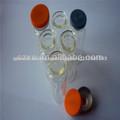 Antibiótico frasco de cristal de la botella
