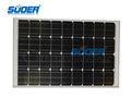 monocristalino de la célula solar panel de 100w 18v de la célula solar módulo