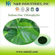 de sodio zinc de clorofila