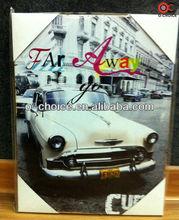 Indio wk-46 levantada lienzo de arte hermoso coche pintura al óleo
