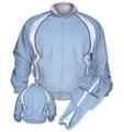 personalizado de inverno de algodão tingido planície velo treino fatos de treino
