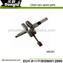 baratos sierra de cadena de piezas de repuesto de la moda caliente ms381 del cigüeñal