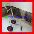250 kgs mutifuction aço inoxidável transportadora carrinho de pesca