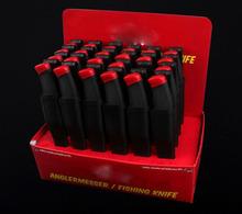 - el color de la caja que muestra cebo cuchillo/f-209