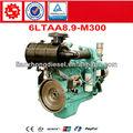 DCEC Dongfeng diesel motor Cummins 6LTAA8.9-M300 para barco