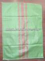 arena verde bolsas de plástico tejidas