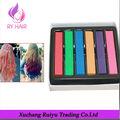 color de cabello temporal en lata de regalo listo tiza de color para el cabello