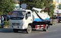 Camión de succión fecales, los residuos de succión de agua de camiones foton jac isuz chasis de camión