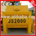 Hormigonera eléctrica con eje doble JS2000(120m3/h) con mejor precio