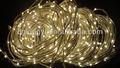 luces de árbol de Navidad rama lideradas
