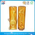 personalizado ronda del tubo del cilindro de cartón de vino de papel caja de regalo al por mayor