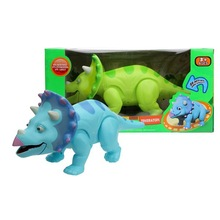 dinosaurios de dibujos animados juguetes monstruo eléctrico triceratops juguetes
