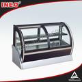 Geladeira vitrine de padaria/vitrine refrigerada pastelaria/geladeira vitrine bolo