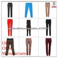 fabricante damas pantalones de moda fábrica