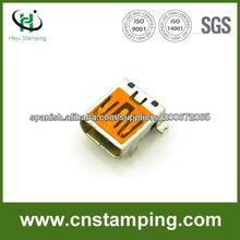 micro usb tipo b conector hembra