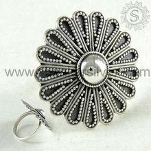 925 de plata esterlina de la moda de joyería anillo/venta al por mayor joyería de plata/hechos a mano de plata de la joyería