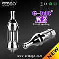 E-cig superior com bom preço e entrega rápida seego g-hit k2 omega atomizador