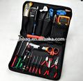 Venta caliente bolsa de herramientas/herramienta de jardín bolsa/lesther bolsa de herramientas hechas en china oem