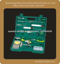 35 en 1 kit de herramienta de mano mecánico