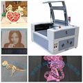 acrílico cortador de toma de láser y máquina de grabador