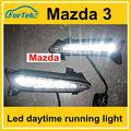 original de fábrica drl led luz de marcha diurna para mazda 3 fabricante de china