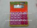 caramelo de color de cristal de la calculadora