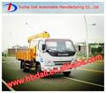 china hizo 2t jac camiones grúas con la mejor calidad