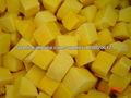 Dados de Mango congelado IQF