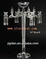 el último multifuncional candelabros de cristal de la boda para centros de mesa