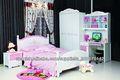 los niños muebles del dormitorio baby cama litera de madera mobiliario infantil los niños de colores de la pintura del dormitori