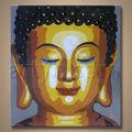 venta caliente más nuevo de la pintura de arte hecho a mano de buda abstracta pinturas al óleo